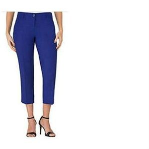 Hilary Radley Women's Stretch Slim Leg Crop Pant